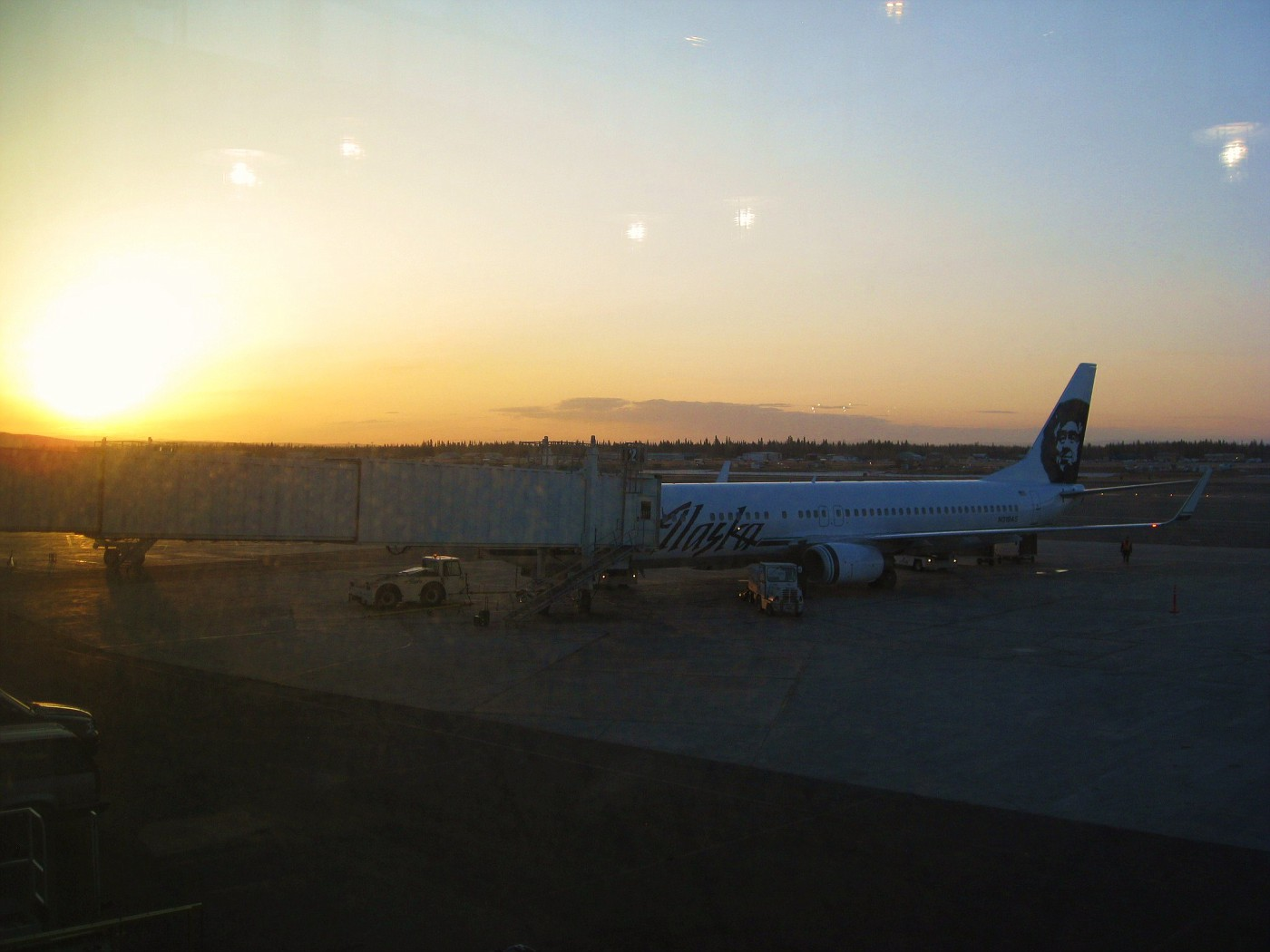124 EARLY MORNING DEPARTURE FROM FAIRBANKS.JPG