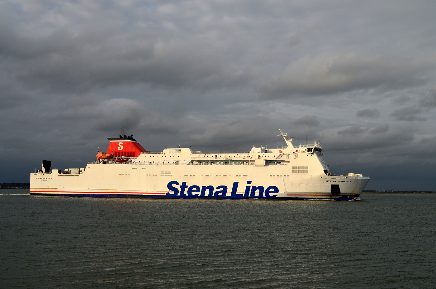 ferry initially