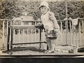 Mom, Age 3, in her play pen. 1927