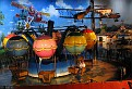 Main exhibit – view of Montgolfier Balloon Race ride