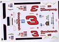 A Star 1996 Dale Earnhardt #3 Goodwrench silver