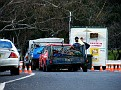Security Checkpoint for race fans camping on the Mountain 001