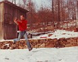 Marty makes a leaping catch 1984