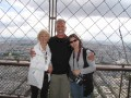 I waited a long time for this!!!  It was worth the wait!!!  Anita, Alaina and I atop the Eiffel Tower together!!!
