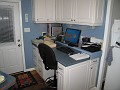 Side Shot!!!  Couldn't Resist.  Yes, Here is the new work station that I built for myself and it's where it all happens '-)))  Gary