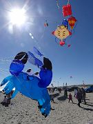 NEW! Stack of small sea-life inflatable kites.