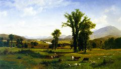 Mount Ascutney from Claremont, New Hampshire [1862]