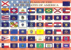 06- USA STATE FLAGS