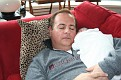 Uncle Jonathan and me napping