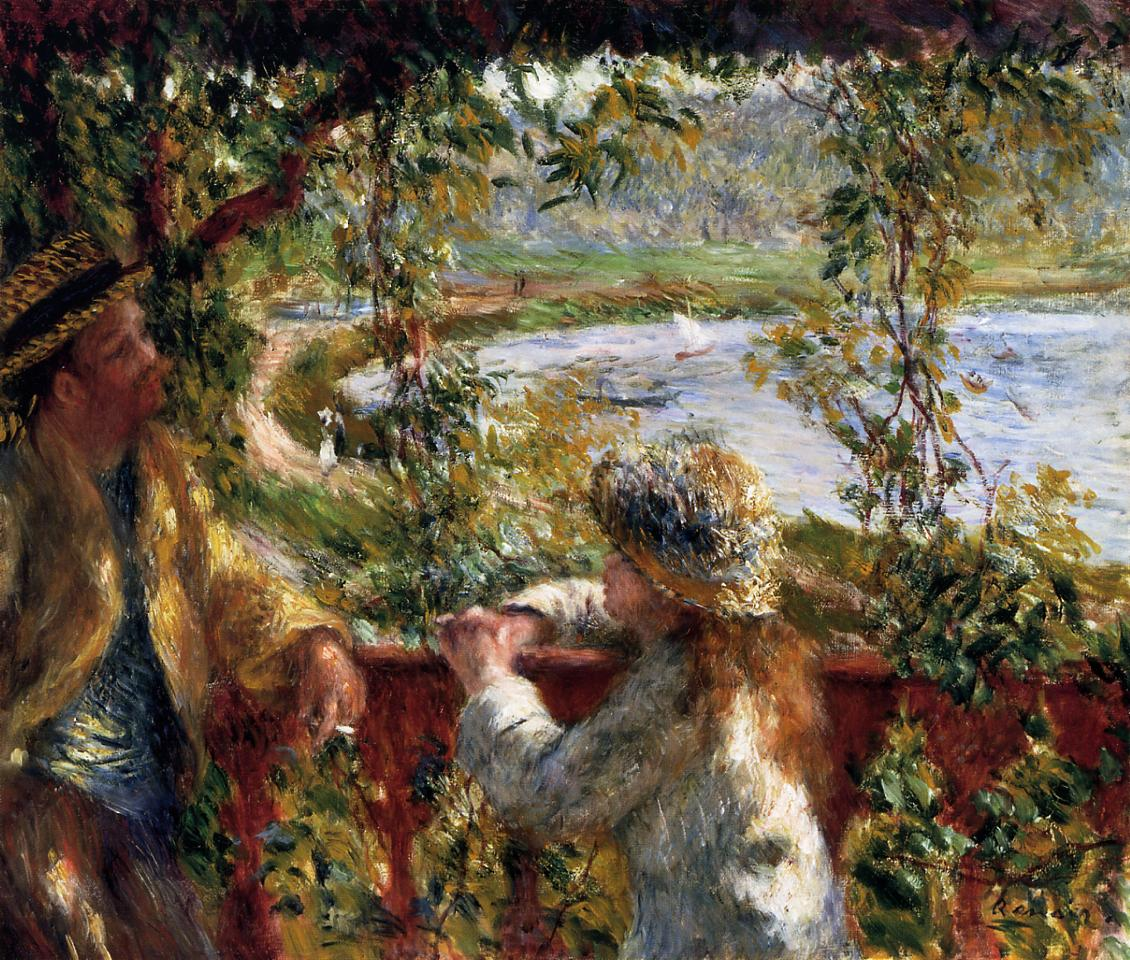 the life and art of pierre auguste renoir Pierre-auguste renoir's 'a girl with a watering can' art of life journal (lined) [ted e bear press] on amazoncom free shipping on qualifying offers blank journal with cover art from the masters.