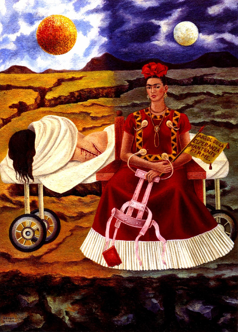 the two fridas The two fridas the two fridas, 1939, oil on canvas, 67 x 67, collection of the museo de arte moderno, mexico city painted in 1939 at the time of her divorce from diego, the two fridas is.