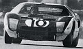 1964 GT 40 with Phil Hill in car which he shared with Bruce McLaren....