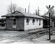 75-Old Tennessee RR freight depot just before it was moved to Oneida City Park entrance