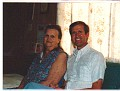 My Mom and me at her house in Norma.