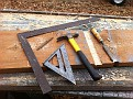 Today's Project / Building a Shelf - Storage system which will hold crates and / or 5 gallon buckets filled with items for storage and convenience of use.
