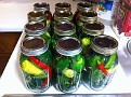 Voila!!!  Jarred Hot Peppers :-)