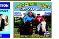 Erin & Olivia made the Front Page of the Brightside Newspaper!!! See the 2 Girls on Horseback...  Thanks Barbara Howell!!!  Awesome Experience :-)