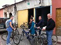 Carlos from Zamora Spanish School took us on a 3 hour  bike Ride tour of 6-7 Local Villages / Towns.  Was a neat and energetic jaunt after Classes were over.