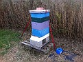 Preparing the Hives in preparation for Hurricane Sandy 1-2 days before...10-27-2012 a Saturday