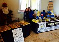 "Erin and Kas at Willow Creek Winery ""Sip & Shop"" weekend event.  Fresh Lemon Scones & Honey!!!"
