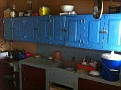 Berta's Kitchen where she makes great meals. They have a refrigerator but its in the dinning room.