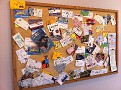 Illinois Bulletin Board at Henry's Hot Dogs...  Find the Busy Bees NJ business card :-)
