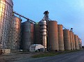 So Many Huge Grain Silos!!!  Everywhere, here in Farm Country / Illinois along Route 66.