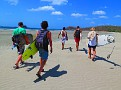 Surfin Mates at Hermosa Beach near San Juan Del Sur.  Guys from Norway..  Cali...