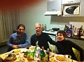 Alaina's friends over for a Christmas Eve Dinner ;-) Nadia & Dimitrius are from Greece.  Merry Christmas ;-)