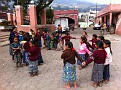 In the Municipality of Santa Maria Jesus near Antigua, Guatemala,  we Happened upon an outdoor school function.  What Fun to watch. And it's easy to see they were enjoying the fresh air, games and friendship......