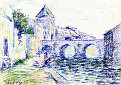 View of Moret-sur-Loing [undated]