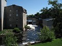 The falls, from the patio at Rob Roy's, Smiths Falls