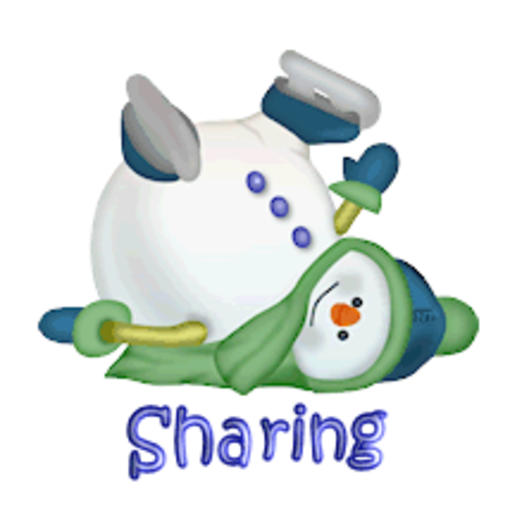 Sharing - CuteSnowman1318