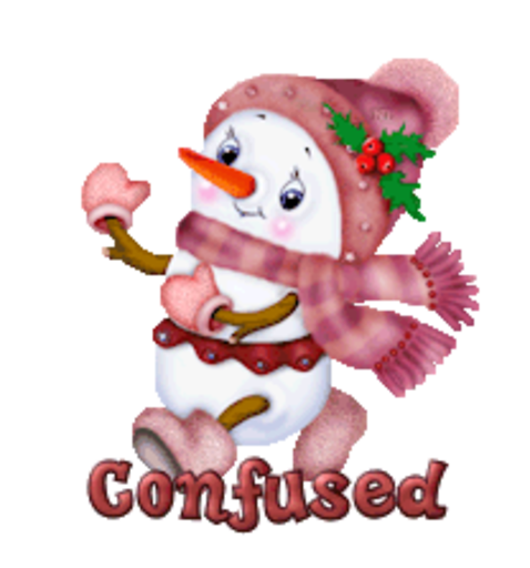Confused - CuteSnowman