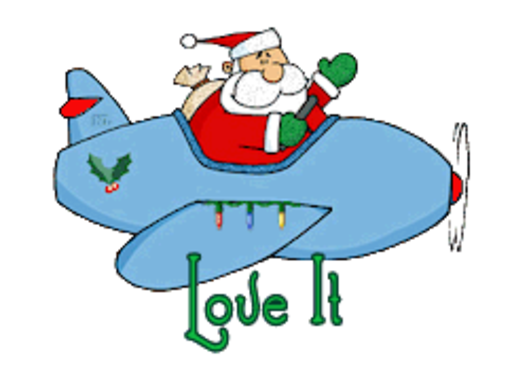 Love It - SantaPlane