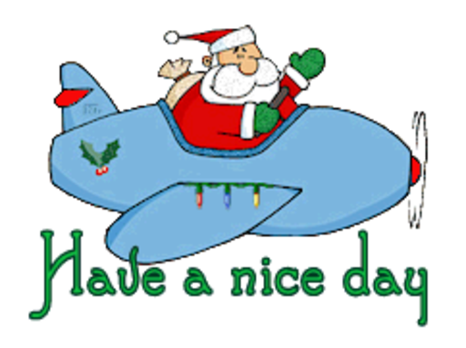 Have a nice day - SantaPlane