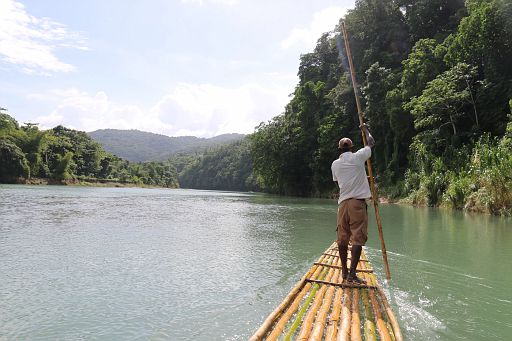 Port Antonio Rio Grande Rafting 2017 December 6 (2)
