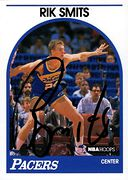 Autographed 1989-90 Hoops #037 (1)