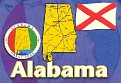 00- Map of ALABAMA (AL)