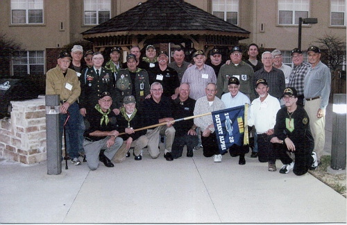22-Some members of Alpha Company, 1/28th Infantry, First Infantry Division, at a Vietnam Veterans Reunion.