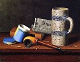 Still Life with Blue Tobacco Box [1878]