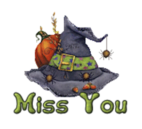Miss You - CuteWitchesHat