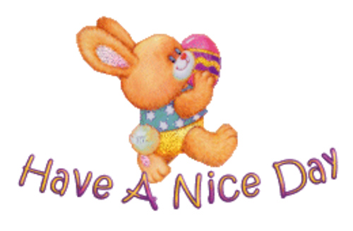 Have A Nice Day - EasterBunnyWithEgg16