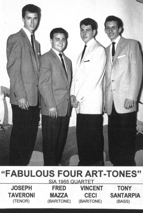 "The ""Art Tones"", class of 1955"