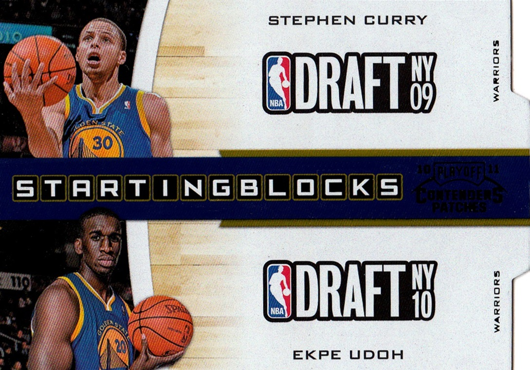 2010-11 Playoff Contenders Patches Starting Blocks #02 (1)