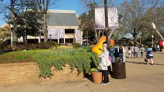 2016-03-26 - Gail arriving at the Opry.