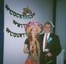 My father and me -- at the start of the Cinco de Mayo party!