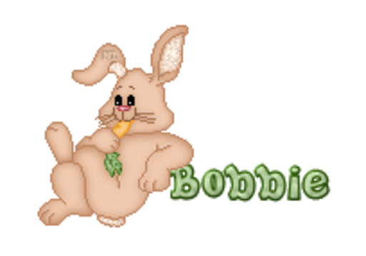 Bobbie - BunnyWithCarrot