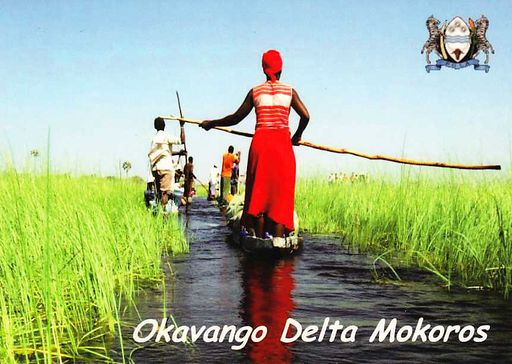 Bostwana - OKAVANGO DELTA NS