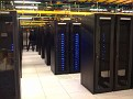 Sunday November 22 2009 1:43 PM.  With Dmitri at Fotki Data Center in North New Jersey near NYC making some adjustments to servers.